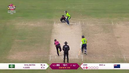 NZ v IRE: Ireland innings highlights