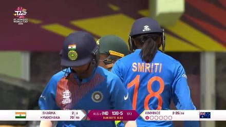 IND v AUS: 1000 T20I runs for Smriti Mandhana