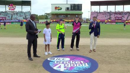 NZ v IRE: Ireland win the toss and bat
