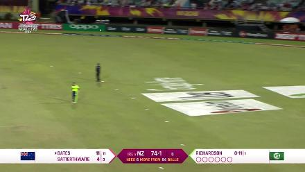 NZ v IRE: New Zealand wickets