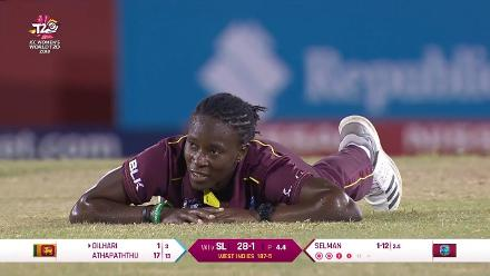 WI v SL: Loads of action on the millionth ball in women's international cricket