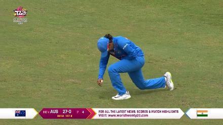 IND v AUS: Deepti Sharma has Elyse Villani caught