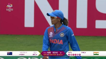 IND v AUS: Veda Krishnamurthy takes fourth catch of the match