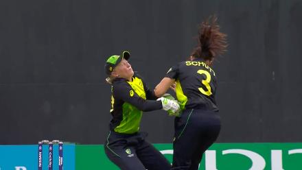 IND v AUS: Nasty collision leaves Alyssa Healy injured