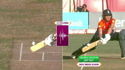 WI v ENG: Sciver dismissed after DRS review