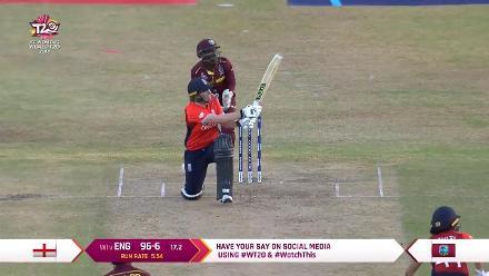 WI v ENG: England innings highlights