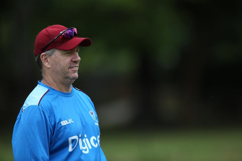 Stuart Law was previously Windies head coach