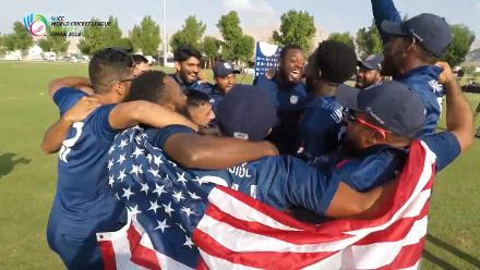 WCL Div 3: USA celebrate promotion