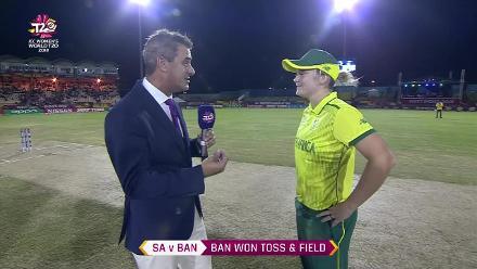 SA v BAN: Bangladesh win the toss and bowl