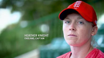 ENG v IND: Heather Knight gets ready for the semi-final
