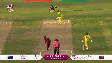 WI v AUS: Australia innings highlights