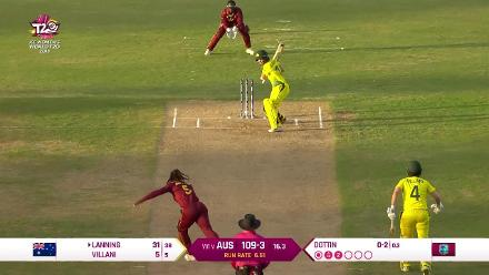 WI v AUS: How the Australian wickets fell