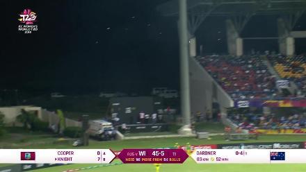 WI v AUS: Windies wickets