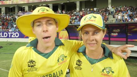 WI v AUS: 'Thanks for watching' – Elyse Villani to Australia fans