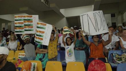 ENG v IND: Crowd soaks in the atmosphere