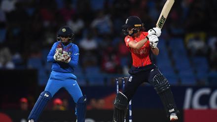 England v India, 2nd Semi-Final, ICC Women's World T20 at Antigua, Nov 22 2018
