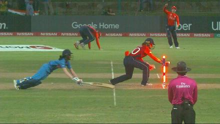ENG v IND: Rodrigues run out on 25