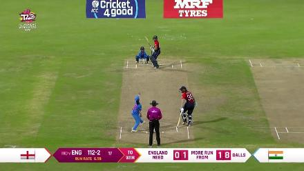ENG v IND: Amy Jones scores a sublime 51