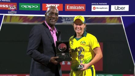 WT20: Alyssa Healy, Player of the Tournament