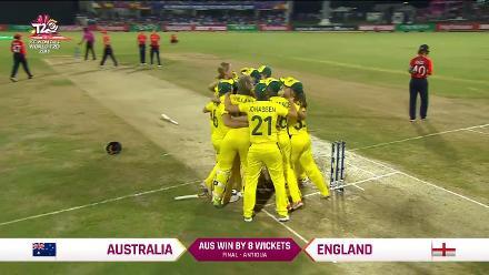AUS v ENG: Australia's winning moment