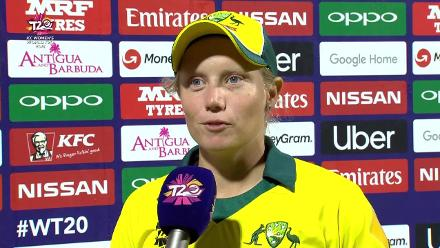 AUS v ENG: 'Really proud of the team's effort' – Alyssa Healy (Player of the Tournament)