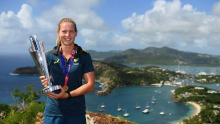 Winning Captain's Photocall, Shirley Heights Lookout Antigua, November 25 2018