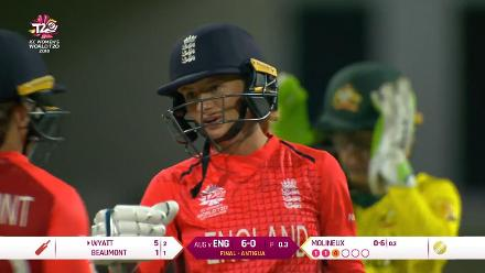 AUS v ENG: England innings highlights