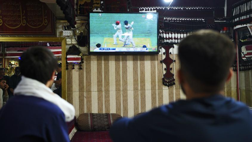 Afghanistan's maiden Test match was followed with great enthusiasm back home