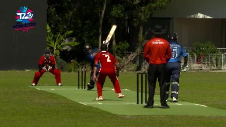 ICC Men's T20 World Cup EAP B Qualifier:  Indonesia v Philippines highlights