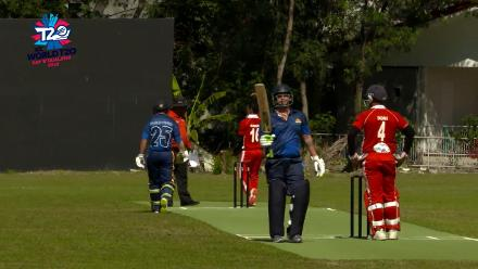 ICC Men's T20 World Cup EAP B Qualifier: Fifty for Philippines' Jonathan Hill