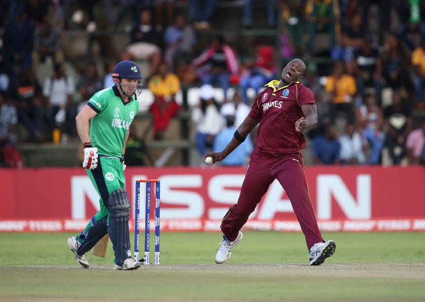 Carlos Brathwaite is also back for the Windies