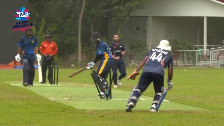 ICC Men's T20 World Cup EAP B Qualifier: South Korea's Mudassir Iqbal picks two wickets in two balls