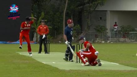 ICC Men's T20 World Cup EAP B Qualifier: Indonesia v Japan highlights