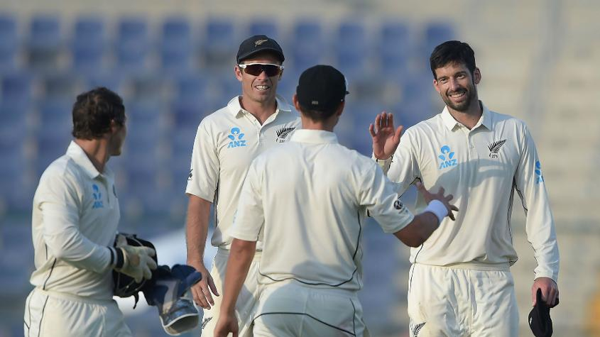 William Somerville took 4/75 in his maiden Test spell to peg Pakistan back