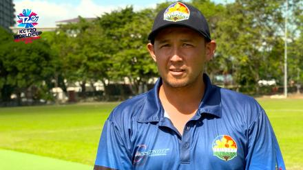 ICC Men's T20 World Cup EAP B Qualifier: Philippines captain Jonathan Hill speaks before the game against Indonesia
