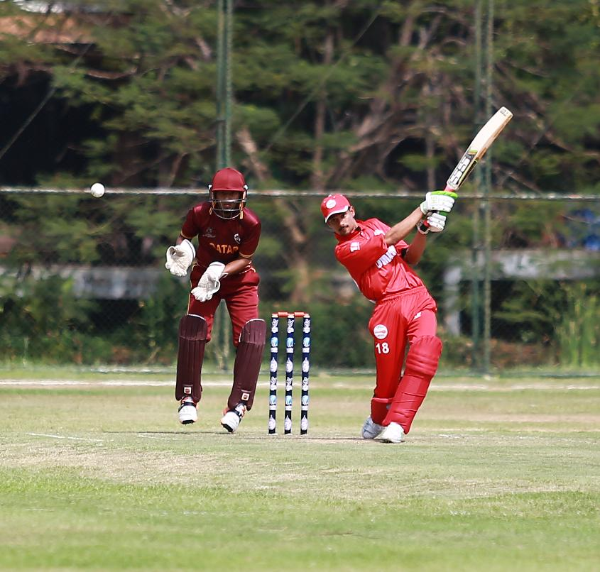 Oman cruised to victory with seven wickets in hand