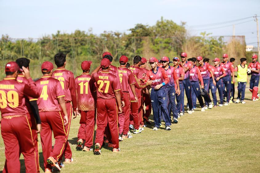 Kuwait defeated Qatar and qualified for ICC U19 CWC Division 1 as group winners