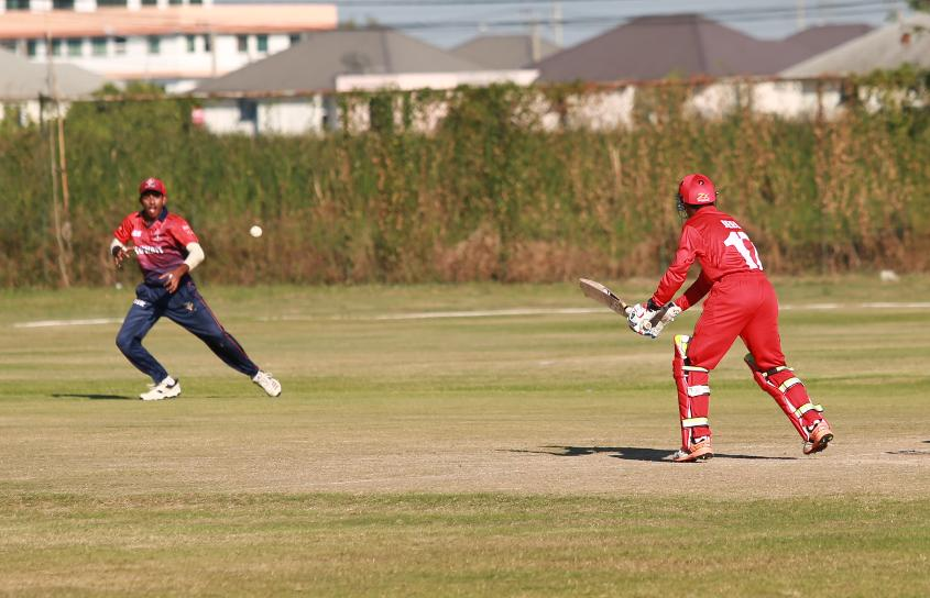 Oman were left needing 22 from the final five overs to seal an incredible win