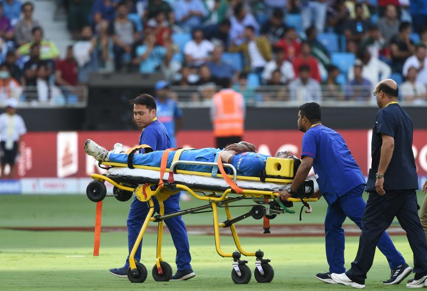 Hardik Pandya sustained a back injury during the Asia Cup