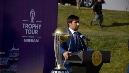 ICC CWC Trophy Tour driven by Nissan reaches Afghanistan