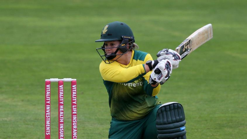Dane van Niekerk's consistency and ability to make runs in tough conditions earned her a place in the ODI Team of the Year