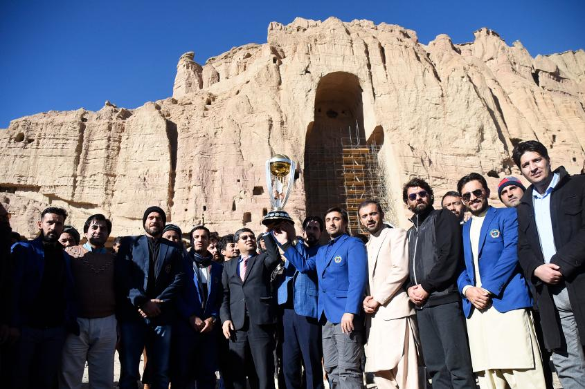Bamyan Province was the setting on day two