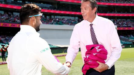 'The only difference from when I retired to now is half my wardrobe is pink' – Glenn McGrath