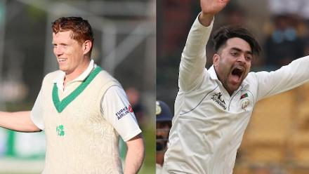 Ireland and Afghanistan make their men's Test debuts