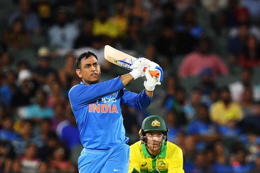 MS Dhoni made an unbeaten 55 off 54 – his 68th ODI half-century