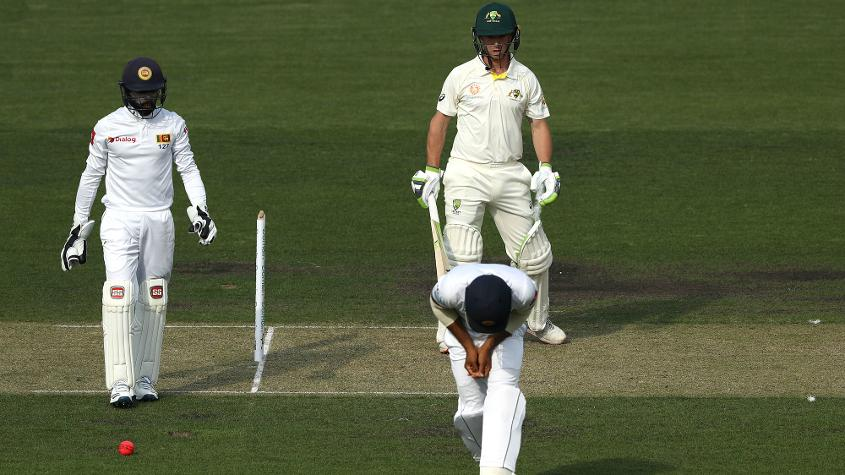 Mendis was hit on the right hand on day one of Sri Lanka's wram-up tie against CA XI