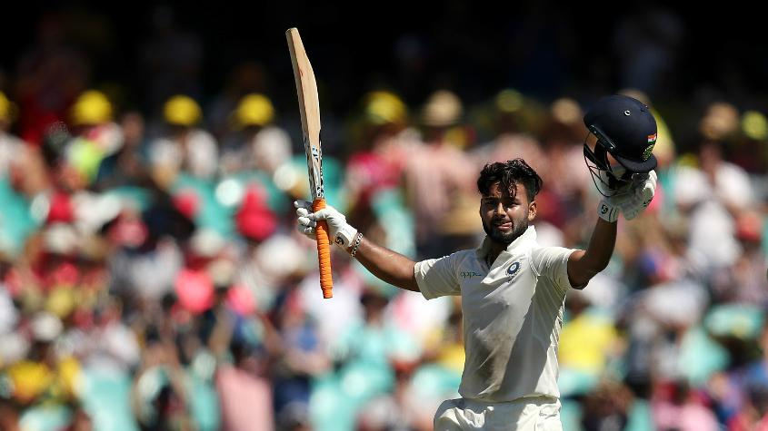 Pant struck a century in his maiden Test series, against England at The Oval
