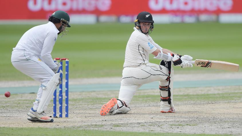 Latham registered the highest score by a New Zealand batsman carrying his bat
