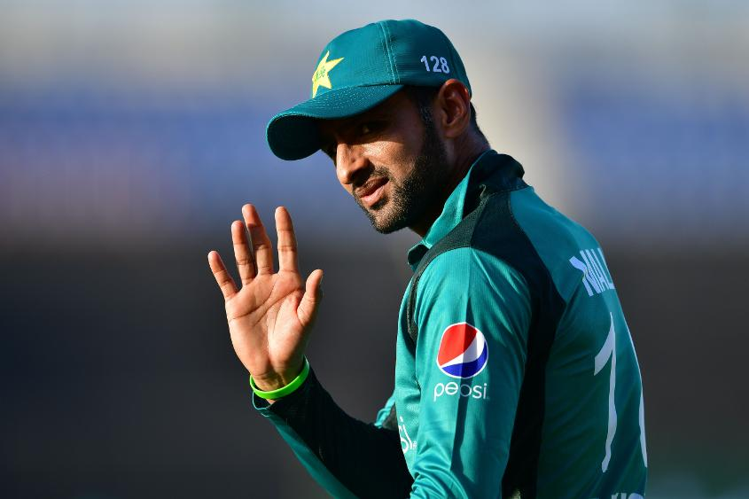 Shoaib Malik has been ruled out due to a bruised rib
