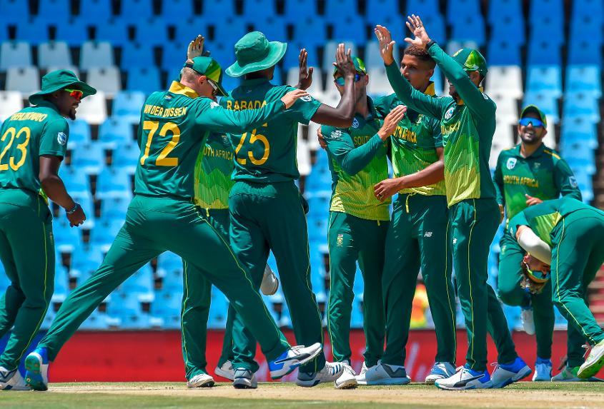 Beuran Hendricks claimed his maiden ODI wicket